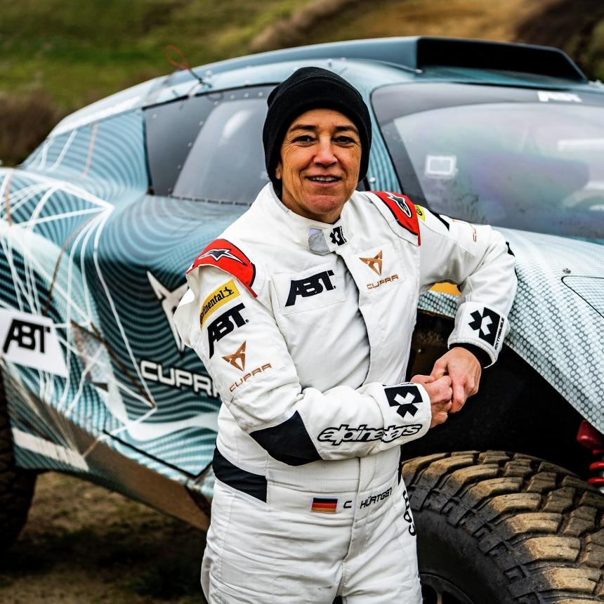 Motorsports: Extzreme-E Abt-Cupra Test